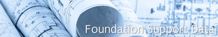 Commercial Foundation Support Data in MN & ND, including Moorehead, Alexandria & Grand Forks.